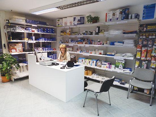 Gyógyászati segédeszköz üzlet Szentendrén