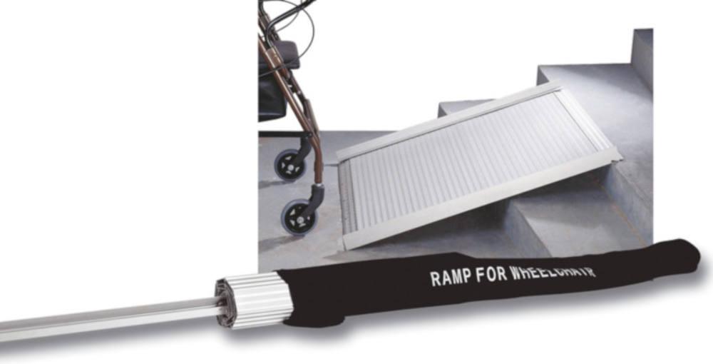 Hordozható, összecsukható mozgássérült rámpa (92 cm x 76 cm)