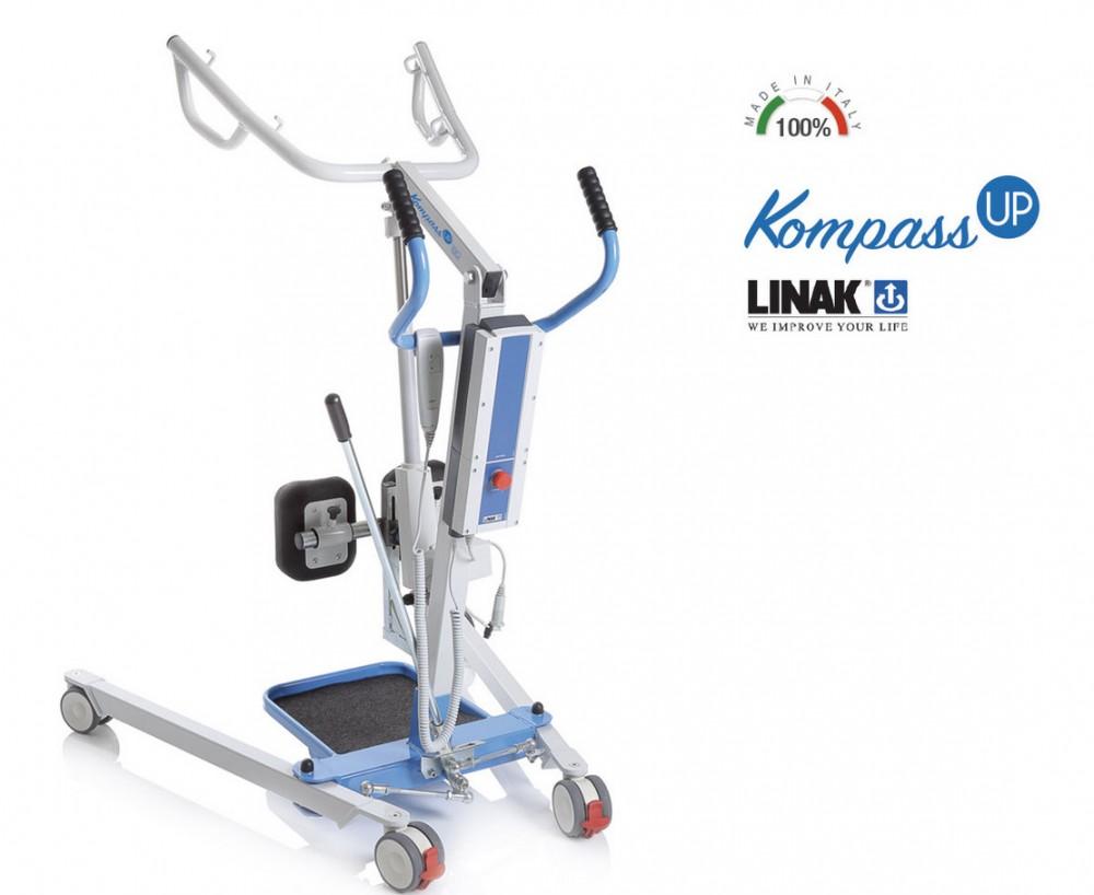 Kompass Up felállást segítő állvány - Linak motorizáció